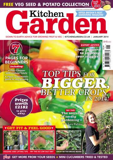 Kitchen Garden Magazine January 2014 KG Subscriptions Pocketmags