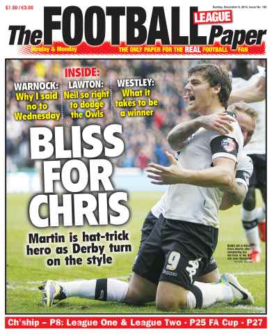 The Football League Paper issue 8th December 2013
