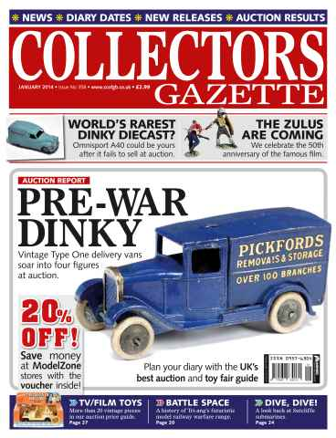 Collectors Gazette issue January 2014