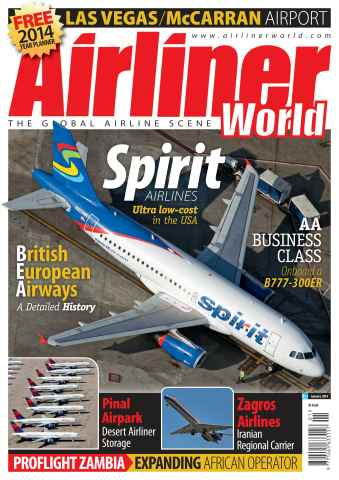 Airliner World issue January 2014