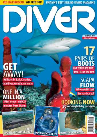 DIVER issue JANUARY 2014