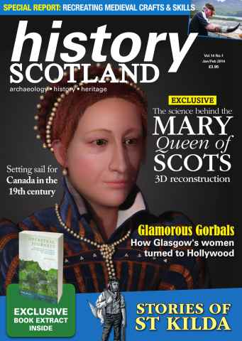 History Scotland issue History Scotland - Jan-Feb 2014