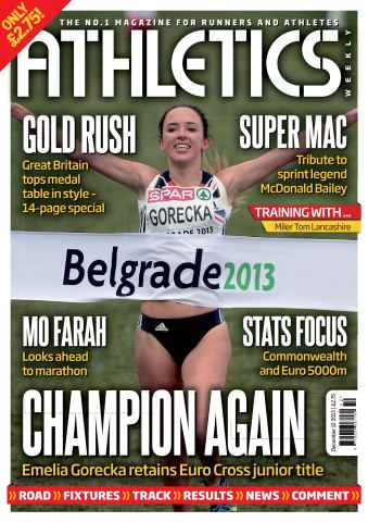 Athletics Weekly issue 12/12/2013