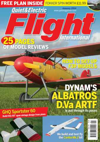 Quiet & Electric Flight Inter issue January 2014