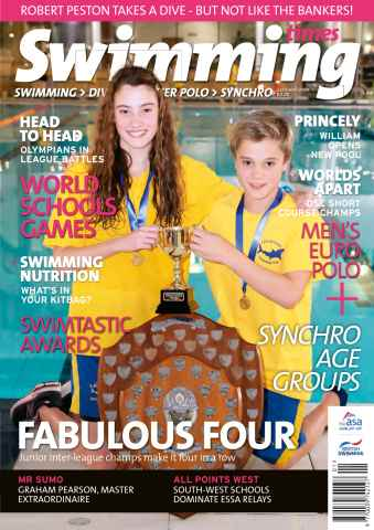 Swimming Times issue January 14