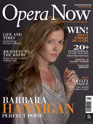 Opera Now issue January 2014