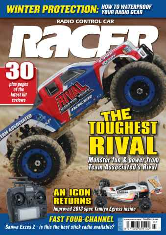 Radio Control Car Racer issue February 2014