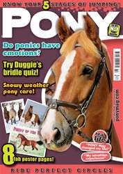 Pony Magazine issue PONY Magazine - February 2014