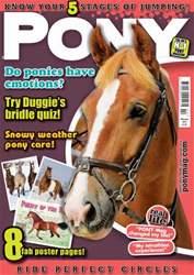 Pony Magazine issue PONY Magazine - February 2014