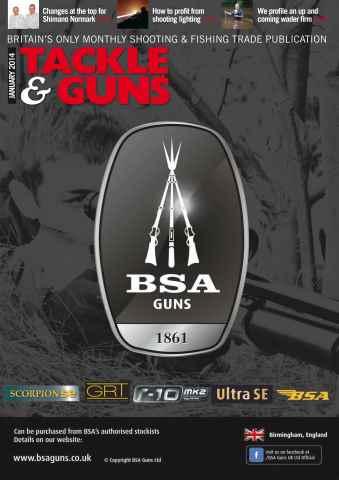 Tackle & Guns issue Tackle & Guns January 2014