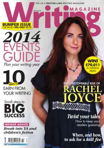Writing Magazine issue 2014 Events Guide February