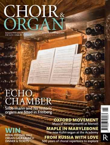 Choir & Organ issue Jan - Feb 2014