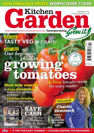 Kitchen Garden Magazine February 2014 KG Subscriptions Pocketmags