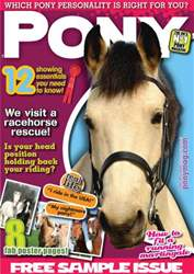 PONY magazine - FREE sample issue PONY magazine - FREE sample