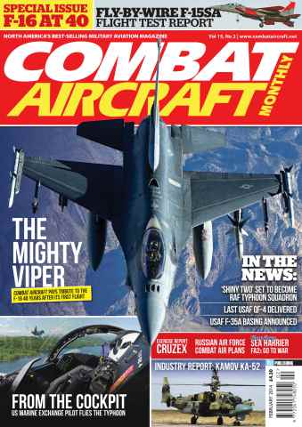 Combat Aircraft issue February 2014