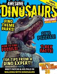 AWESOME DINOSAURS. issue AWESOME DINOSAURS.