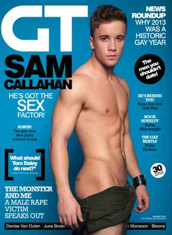 Gay Times issue January 14