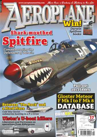 Aeroplane issue No.490 Shark-mouthed spitfire