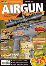 Airgun Shooter issue February 2014