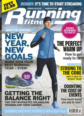Running Fitness issue No.169 New Year, New Goals