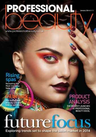 Professional Beauty issue Professional Beauty January 2014