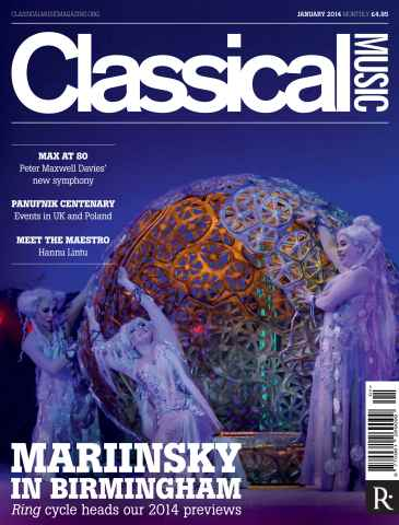 Classical Music issue January 2014