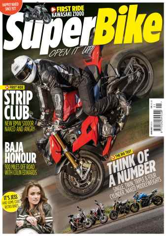 Superbike Magazine issue January 2014