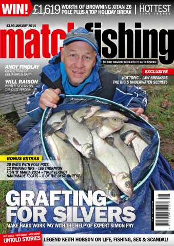 Match Fishing issue January 2014