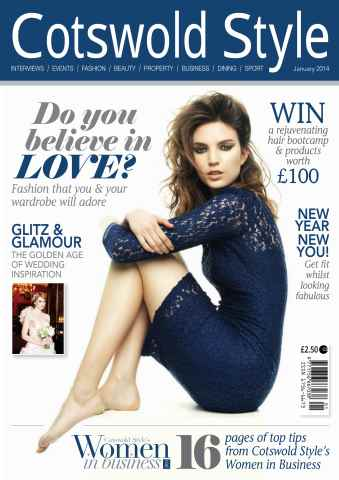 Cotswold Style issue Cotswold Style January 2014