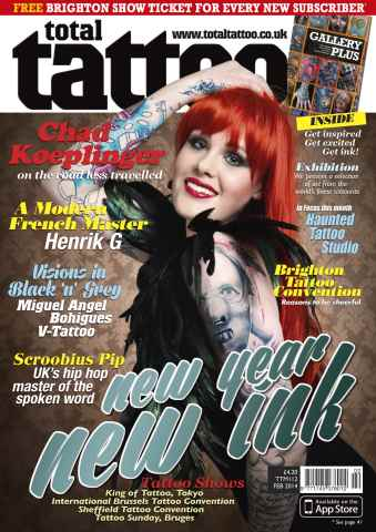 Total Tattoo issue February 2014