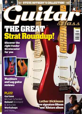 Guitar & Bass Magazine issue Guitar & Bass Magazine February 2014