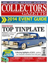 Collectors Gazette issue 2014 Event Guide special - Feb14