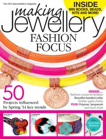 Making Jewellery issue February 2014