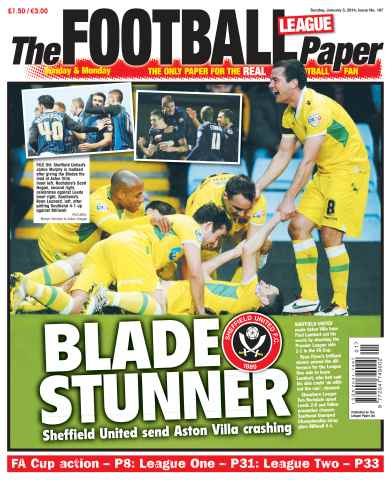 The Football League Paper issue 5th January 2013