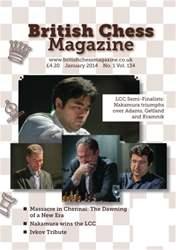 British Chess Magazine issue January 2014