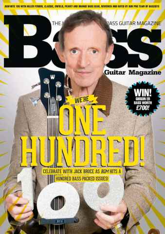 Bass Guitar issue 100 February 2014