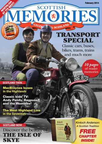Scottish Memories issue February 2014