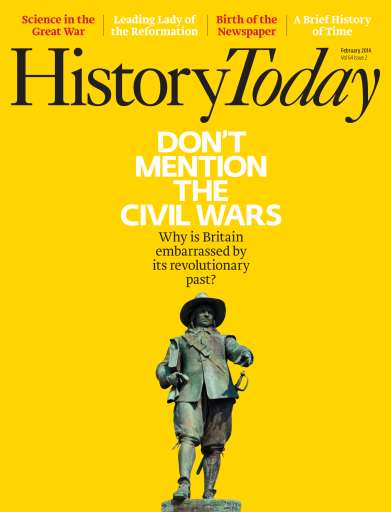 History Today issue February 2014
