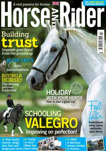 Horse&Rider Magazine - UK equestrian magazine for Horse and Rider issue Horse&Rider magazine March 2014