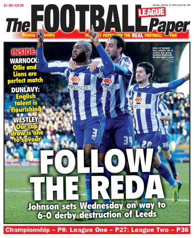 The Football League Paper issue 12th January 2014