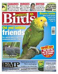 Cage & Aviary Birds issue No.5786 Old & Faithful Friends