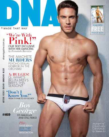 DNA Magazine issue #169 - Underwear Issue