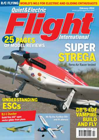 Quiet & Electric Flight Inter issue February 2014