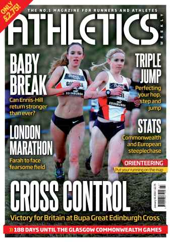 Athletics Weekly issue 16/01/2014