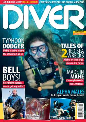 DIVER issue FEBRUARY 2014