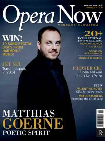 Opera Now issue February 2014