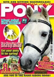Pony Magazine issue Pony Magazine March 2014