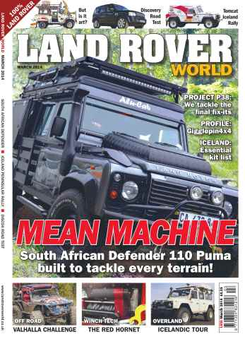 Landrover World issue Mean Machine
