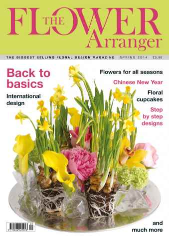 The Flower Arranger issue Spring 2014