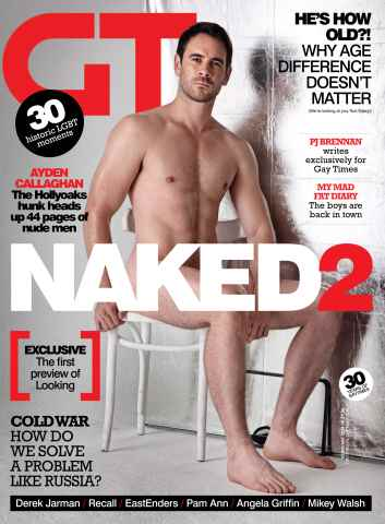 Gay Times issue February 14